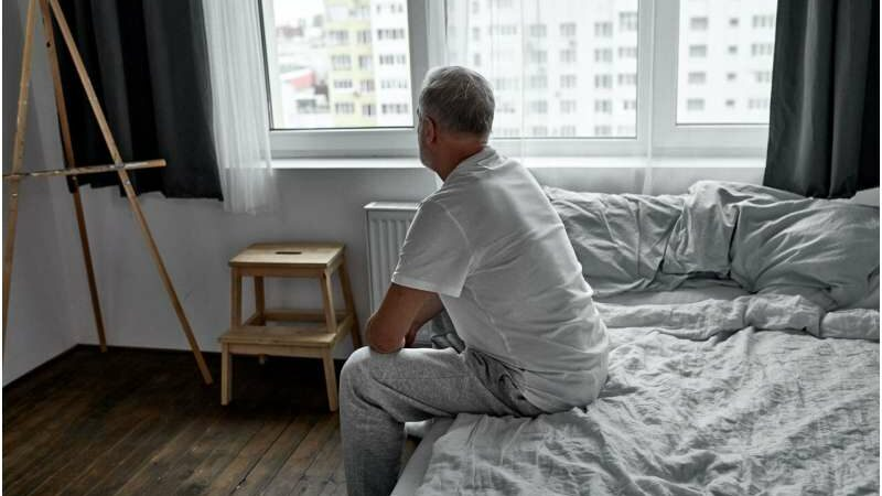 Lost sleep after death of a spouse can damage health of survivor