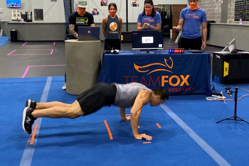 Chicago man performs 30 burpees in 1 minute for Guinness record