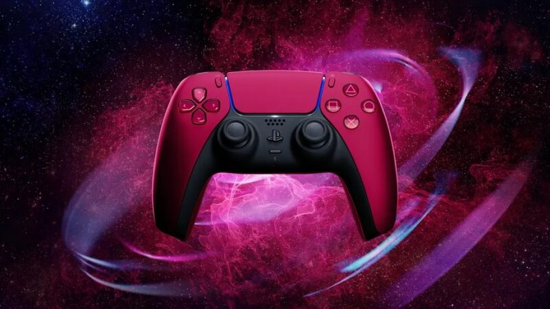 Sony announces new black and red DualSense controllers for the PS5 you still can't buy